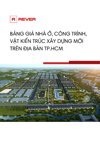 Bảng giá nhà ở, công trình tại TPHCM