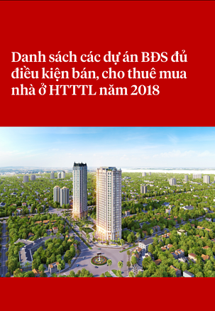 Tài liệu Danh sách các dự án đủ điều kiện bán, cho thuê mua nhà ở HTTTL năm 2018