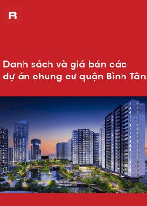 Danh sách dự án quận Bình Tân