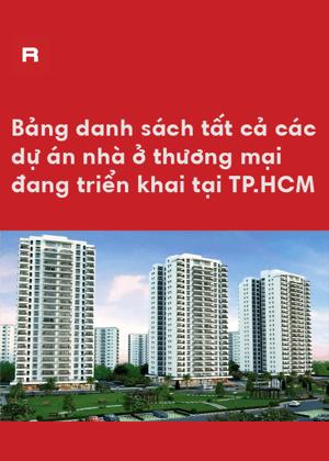 Danh sách dự án nhà ở thương mại tại TP.HCM