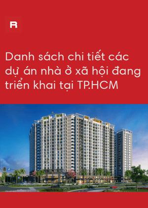 Danh sách các dự án nhà ở xã hội tại TP.HC