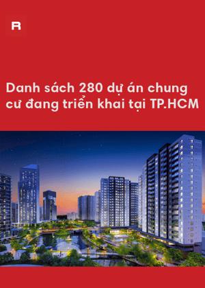 Danh sách 280 dự án chung cư đang triển khai tại TP.HCM