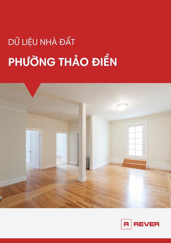 Dữ liệu thị trường nhà đất phường Thảo Điền