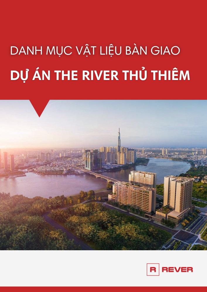 Danh mục vật liệu bàn giao căn hộ The River Thủ Thiêm