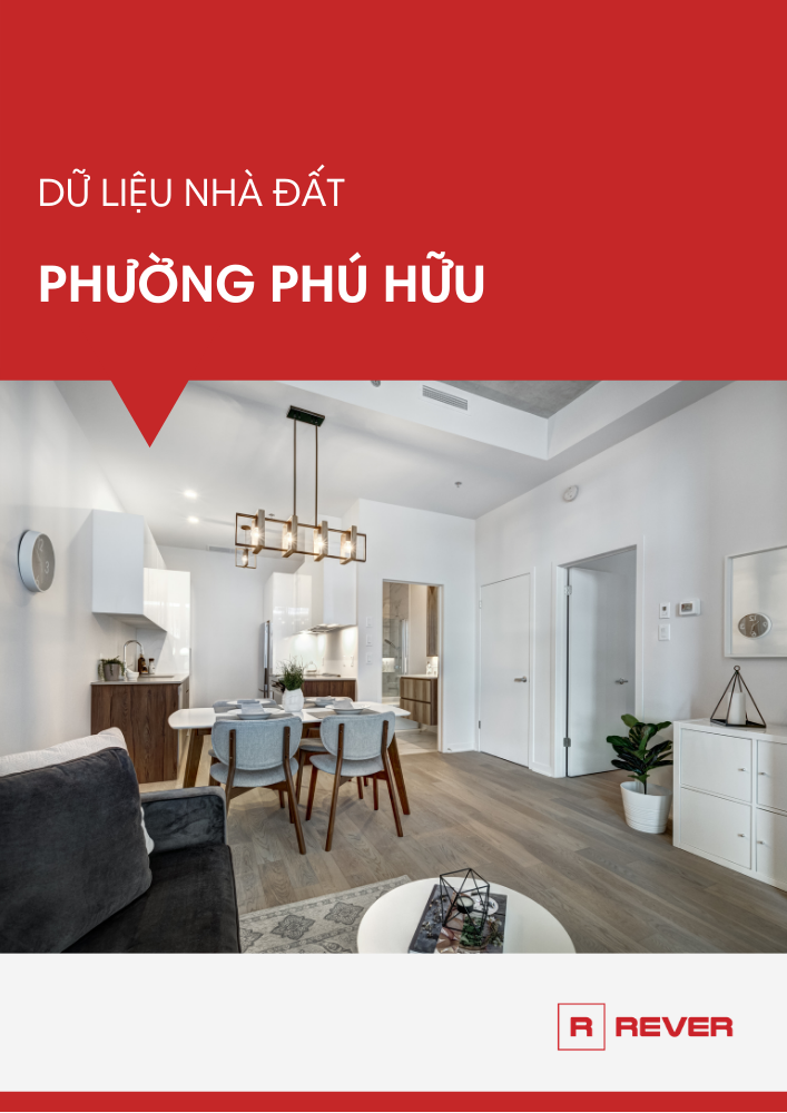 Dữ liệu thị trường nhà đất phường Phú Hữu