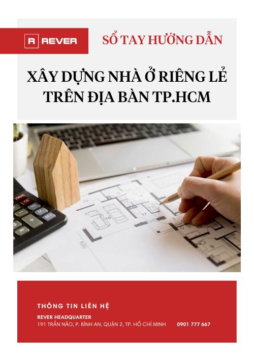 Sổ tay hướng dẫn xây dựng nhà ở riêng lẻ tại TP.HCM