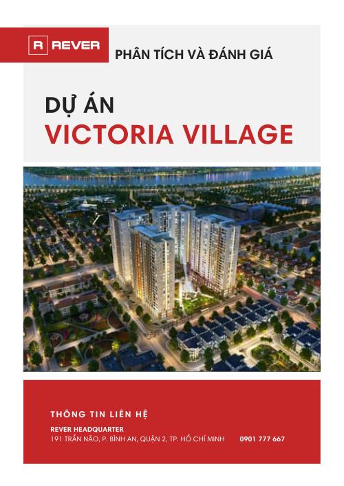 Tài liệu Phân tích và đánh giá dự án Victoria Village