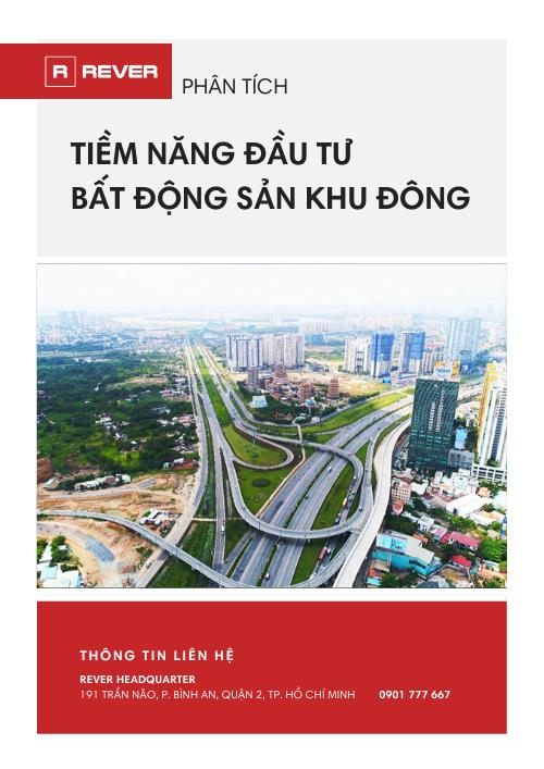 Tài liệu Phân tích Tiềm năng đầu tư bất động sản khu Đông Sài Gòn