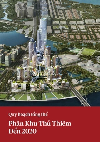 Quy hoạch tổng thể phân khu Thủ Thiêm đến 2020
