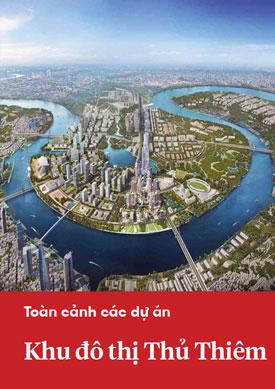 Toàn cảnh các dự án trong khu đô thị Thủ Thiêm