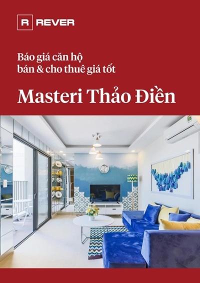 Báo giá căn hộ Masteri Thảo Điền bán và cho thuê giá tốt