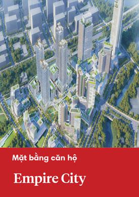 Mặt bằng căn hộ dự án Empire City