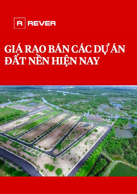 Giá rao bán các dự án đất nền hiện nay