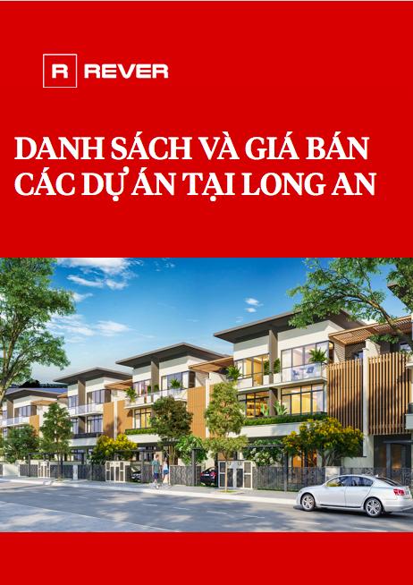 Danh sách và Giá bán các dự án tại Long An