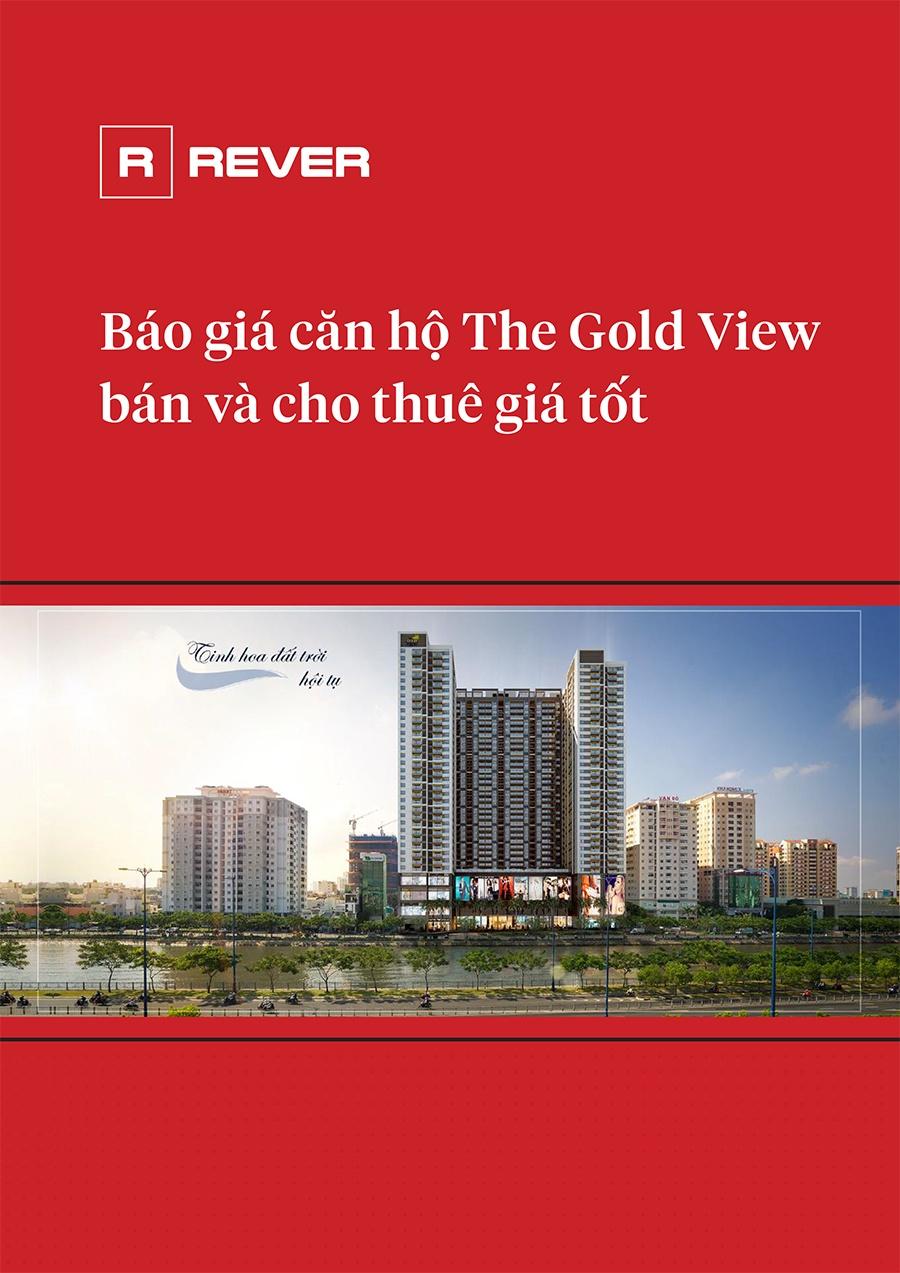 Báo giá căn hộ The Gold View bán và cho thuê giá tốt