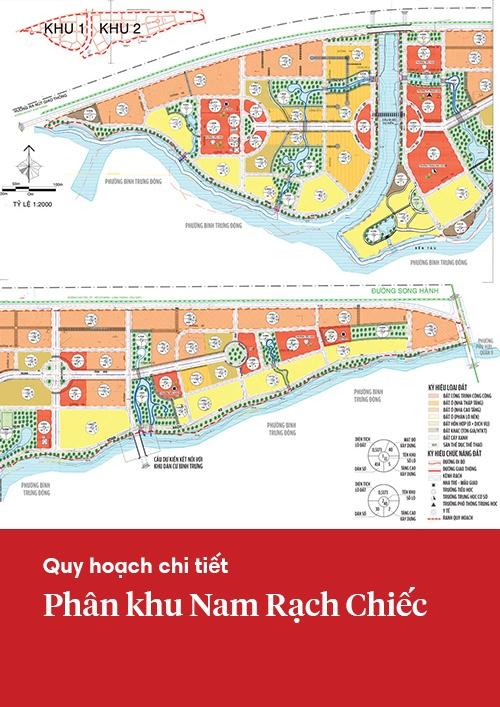 Quy hoạch chi tiết khu Nam Rạch Chiếc
