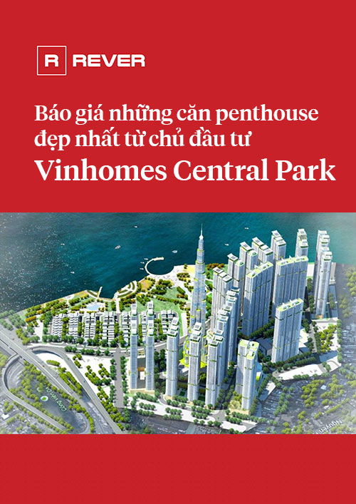 Báo giá các căn penthouse Vinhomes Central Park đẹp nhất từ chủ đầu tư