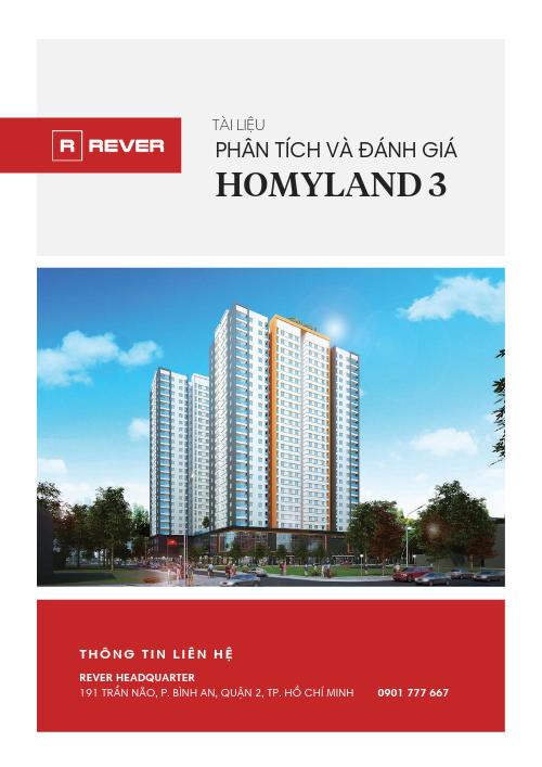 Phân tích và Đánh giá dự án Homyland 3