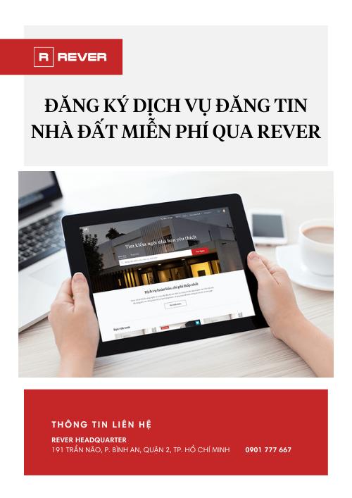 Đăng ký Đăng tin Nhà Đất cùng Rever.vn
