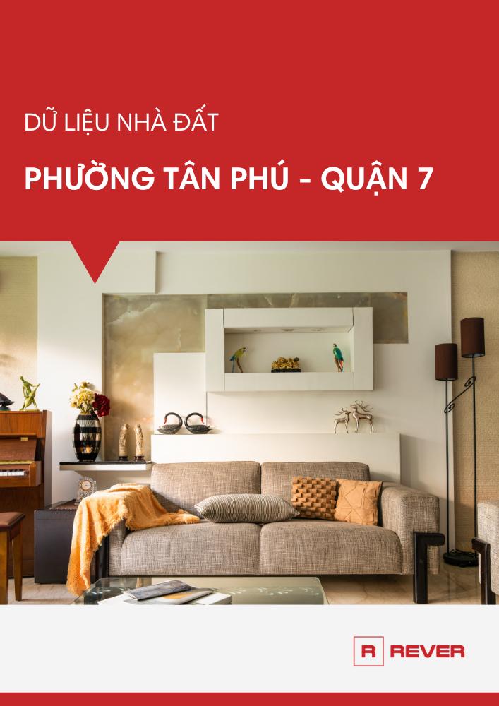 Dữ liệu thị trường nhà đất phường Tân Phú, Quận 7
