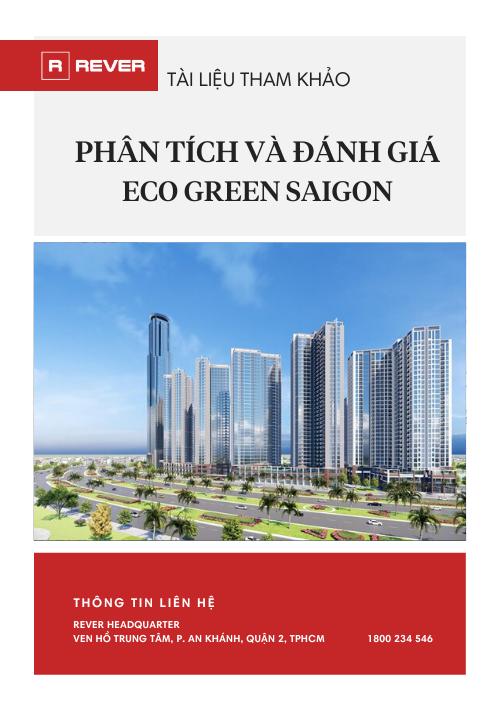 Phân tích và đánh giá dự án Eco Green Saigon