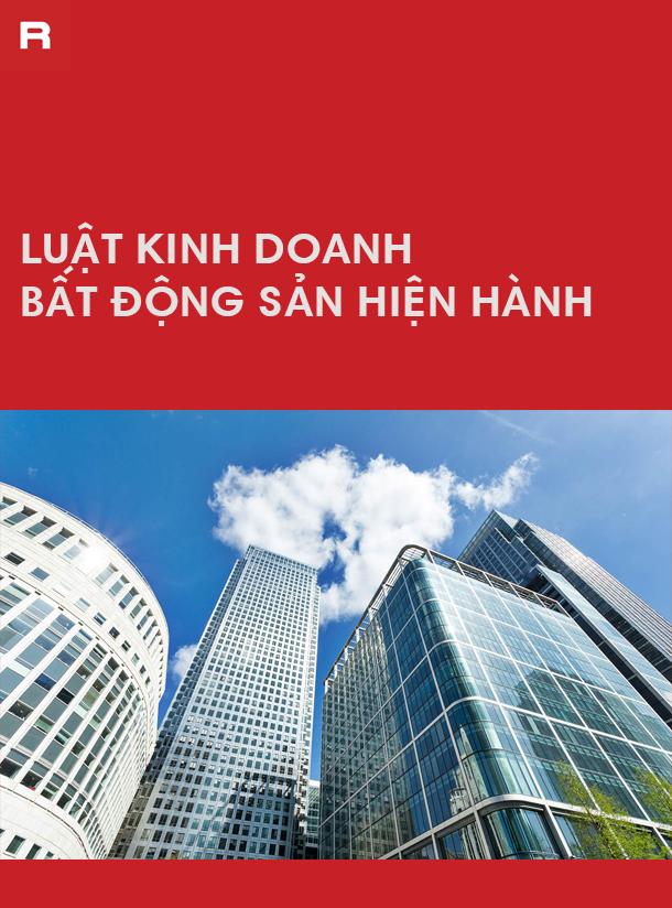 Luật Kinh doanh Bất động sản hiện hành