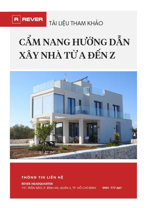 Cẩm nang xây nhà từ A đến Z