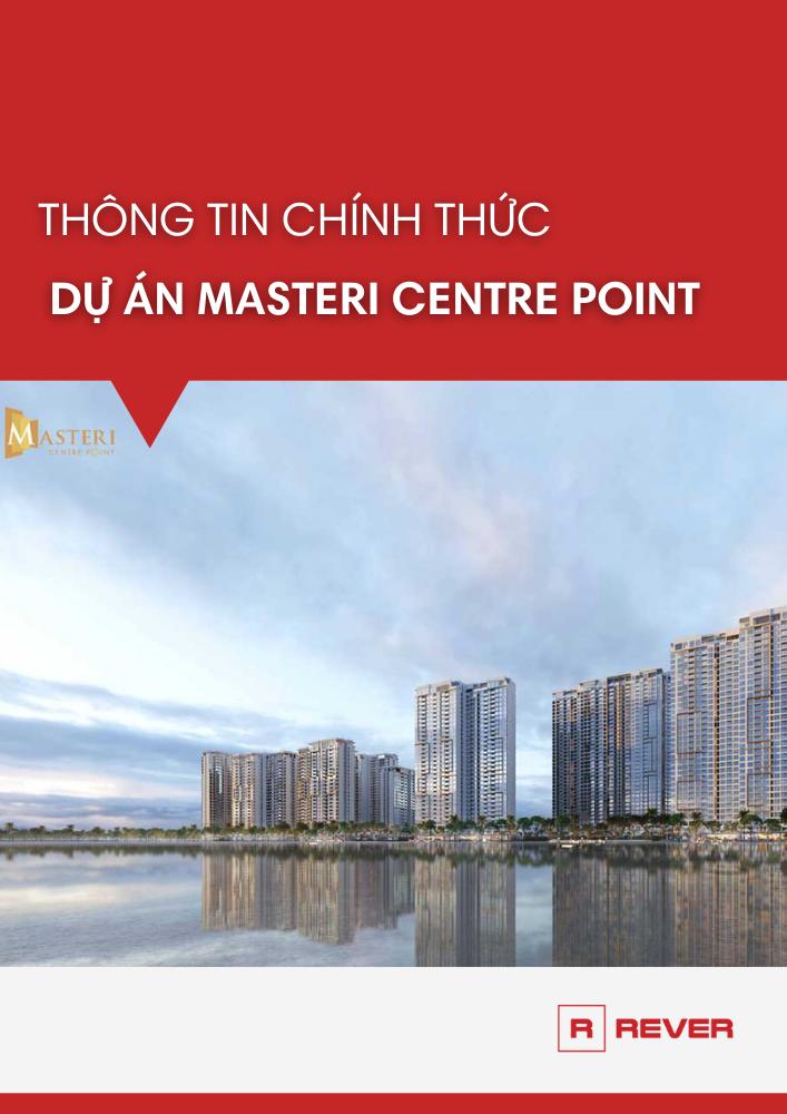 Bảng thông tin chính thức dự án Masteri Centre Point