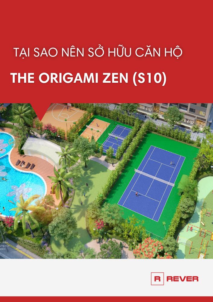 Tại sao nên sở hữu căn hộ The Origami Zen (S10) - Vinhomes Grand Park