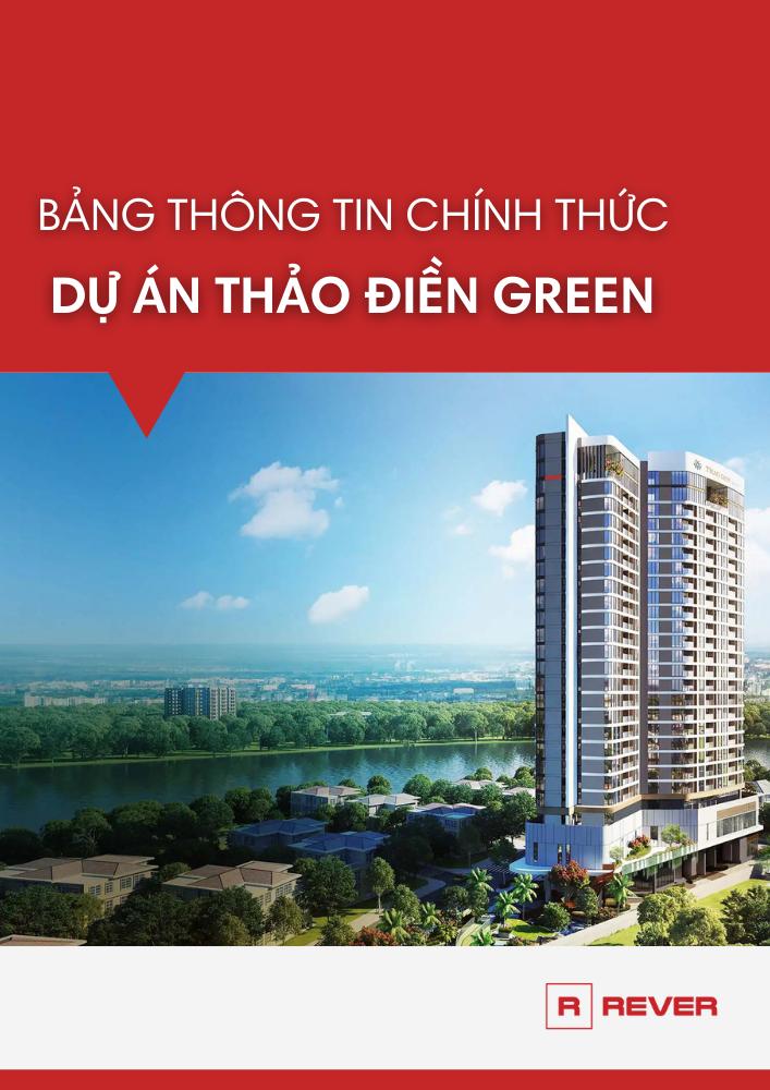 Bảng thông tin chính thức dự án Thảo Điền Green
