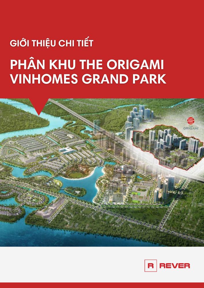 Giới thiệu chi tiết phân khu dự án The Origami - Vinhomes Grand Park