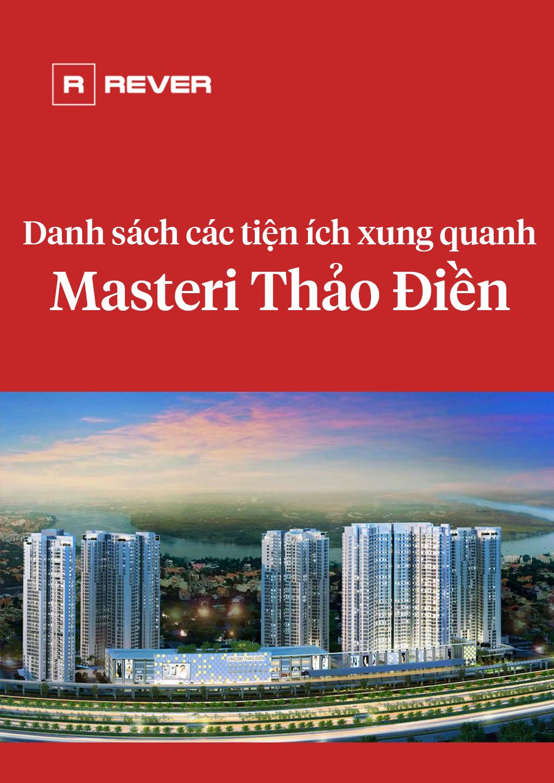 Danh sách các tiện ích xung quanh Masteri Thảo Điền