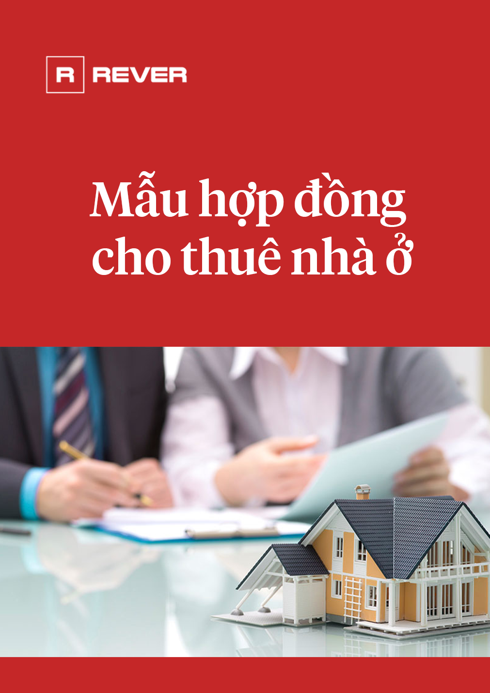 Mẫu hợp đồng cho thuê nhà ở