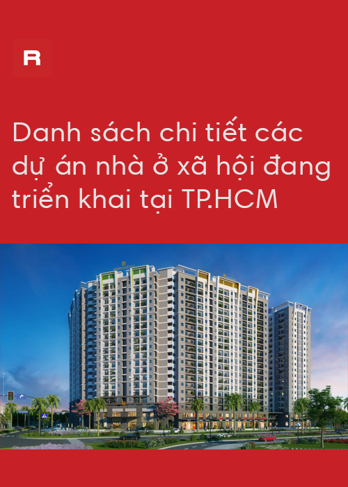 Danh mục đầy đủ dự án nhà ở xã hội TP.HCM