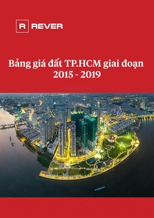 Bảng giá đất TP.HCM giai đoạn 2015 - 2019