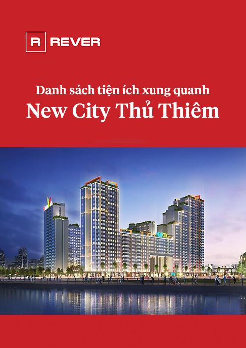 Danh sách các tiện ích xung quanh New City Thủ Thiêm